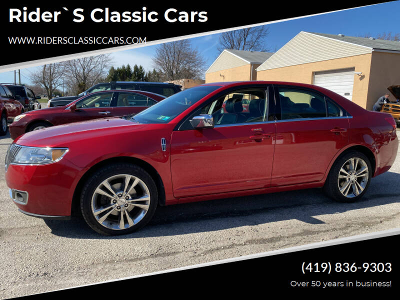 2011 Lincoln MKZ for sale at Rider`s Classic Cars in Millbury OH