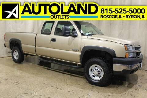 2006 Chevrolet Silverado 2500HD for sale at AutoLand Outlets Inc in Roscoe IL