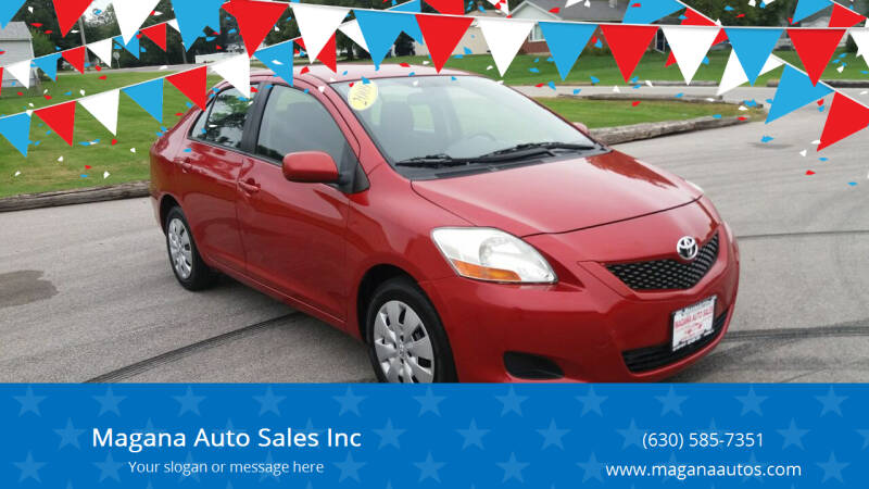 2009 Toyota Yaris for sale at Magana Auto Sales Inc in Aurora IL