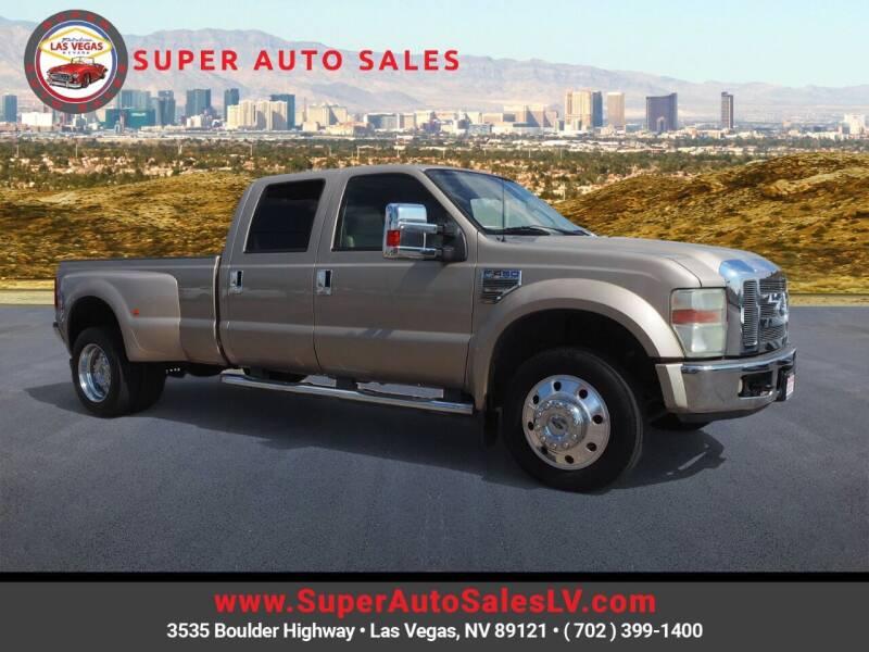 2008 Ford F-450 Super Duty for sale at Super Auto Sales in Las Vegas NV