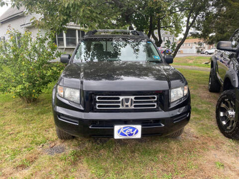 2008 Honda Ridgeline for sale at Whiting Motors in Plainville CT