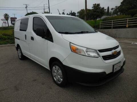 2017 Chevrolet City Express Cargo for sale at ARAX AUTO SALES in Tujunga CA
