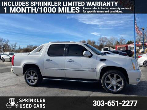 2008 Cadillac Escalade EXT for sale at Sprinkler Used Cars in Longmont CO