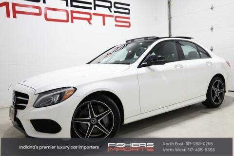 2018 Mercedes-Benz C-Class for sale at Fishers Imports in Fishers IN