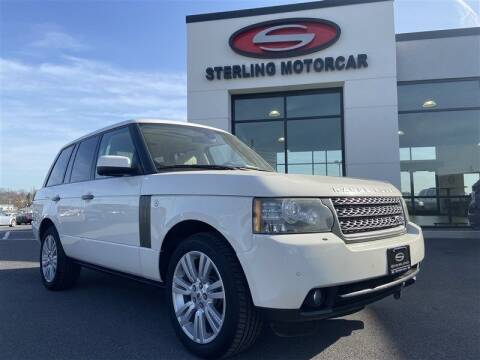 2010 Land Rover Range Rover for sale at Sterling Motorcar in Ephrata PA