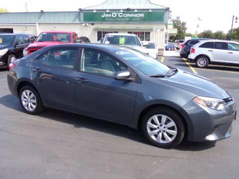 2014 Toyota Corolla for sale at Jim O'Connor Select Auto in Oconomowoc WI