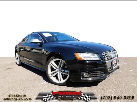 2011 Audi S5 for sale at PRIME MOTORS LLC in Arlington VA