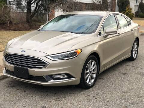 2017 Ford Fusion for sale at MAGIC AUTO SALES in Little Ferry NJ