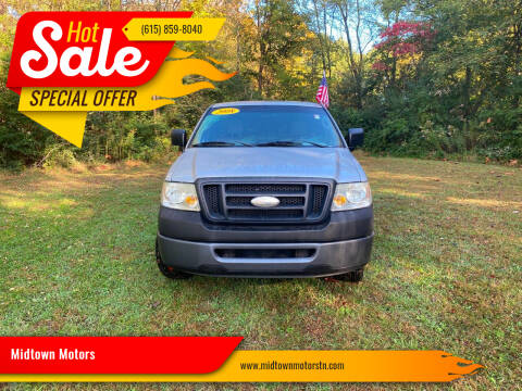 2008 Ford F-150 for sale at Midtown Motors in Greenbrier TN
