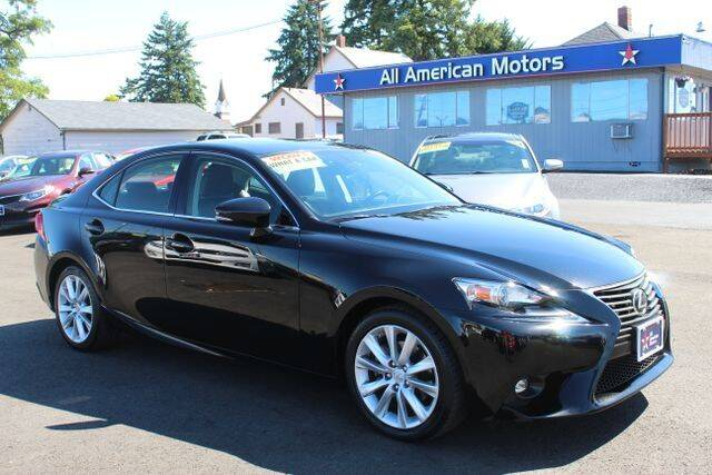 2015 Lexus IS 250 for sale at All American Motors in Tacoma WA