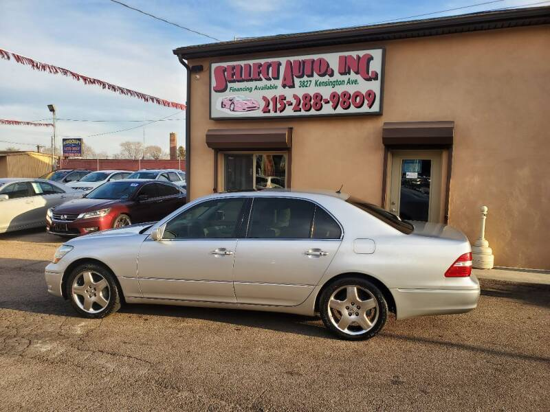 2006 Lexus LS 430 for sale at SELLECT AUTO INC in Philadelphia PA