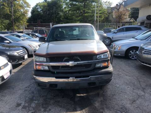 2003 Chevrolet Silverado 1500 for sale at Six Brothers Auto Sales in Youngstown OH
