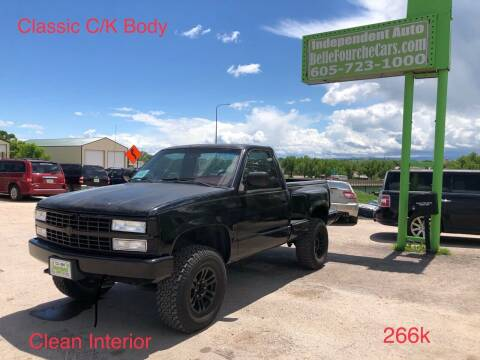 1990 Chevrolet C/K 1500 Series for sale at Independent Auto in Belle Fourche SD