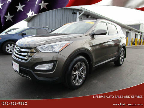 2014 Hyundai Santa Fe Sport for sale at Lifetime Auto Sales and Service in West Bend WI