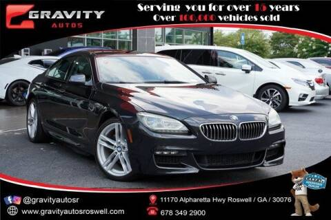 2015 BMW 6 Series for sale at Gravity Autos Roswell in Roswell GA