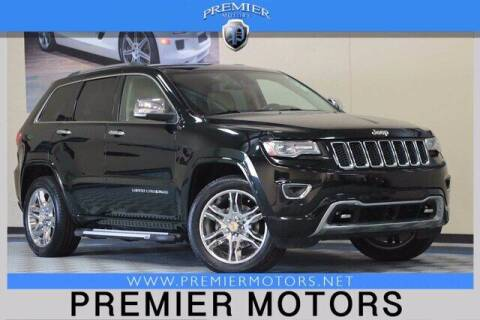 2014 Jeep Grand Cherokee for sale at Premier Motors in Hayward CA
