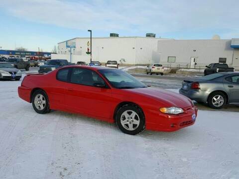 2003 Chevrolet Monte Carlo for sale at Select Auto Sales in Devils Lake ND
