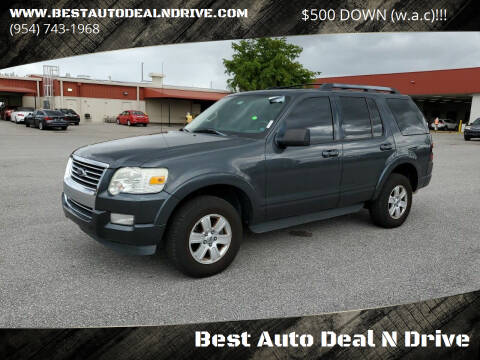 2010 Ford Explorer for sale at Best Auto Deal N Drive in Hollywood FL