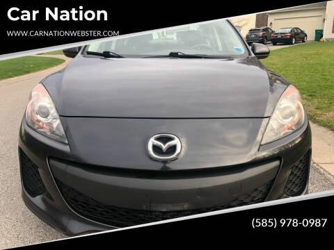 2013 Mazda MAZDA3 for sale at Car Nation in Webster NY
