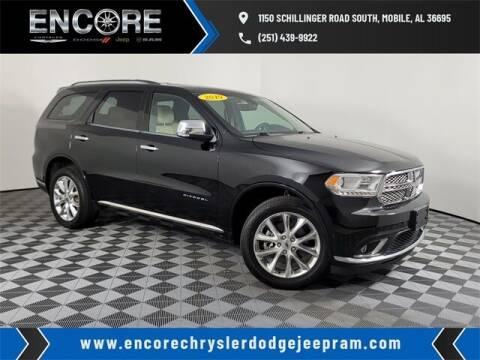 2019 Dodge Durango for sale at PHIL SMITH AUTOMOTIVE GROUP - Encore Chrysler Dodge Jeep Ram in Mobile AL