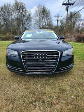 2013 Audi A8 L for sale at CAPITOL AUTO SALES LLC in Baton Rouge LA
