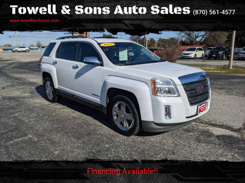 2013 GMC Terrain for sale at Towell & Sons Auto Sales in Manila AR