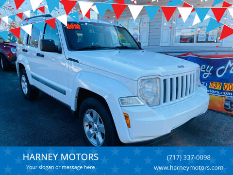 2012 Jeep Liberty for sale at HARNEY MOTORS in Gettysburg PA
