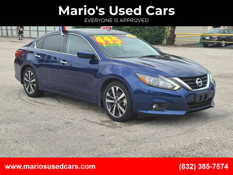 2016 Nissan Altima for sale at Mario's Used Cars - Pasadena Location in Pasadena TX