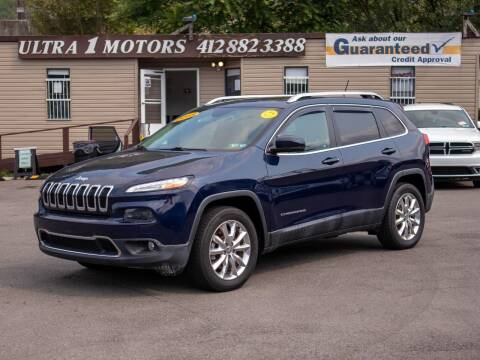 2015 Jeep Cherokee for sale at Ultra 1 Motors in Pittsburgh PA