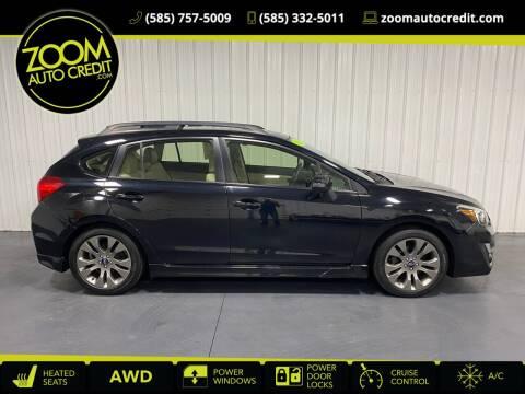 2016 Subaru Impreza for sale at ZoomAutoCredit.com in Elba NY