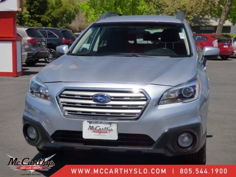 2016 Subaru Outback for sale at McCarthy Wholesale in San Luis Obispo CA
