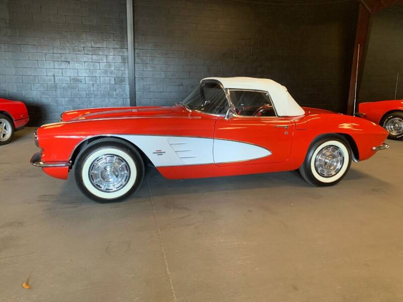 1961 Chevrolet Corvette for sale at American Classic Car Sales in Sarasota FL
