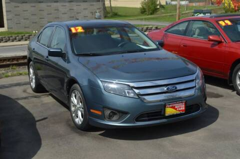2012 Ford Fusion for sale at Performance Motor Cars in Washington Court House OH
