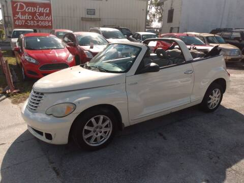 2006 Chrysler PT Cruiser for sale at DAVINA AUTO SALES in Casselberry FL