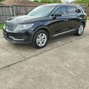 2016 Lincoln MKX for sale at MOTORSPORTS IMPORTS in Houston TX