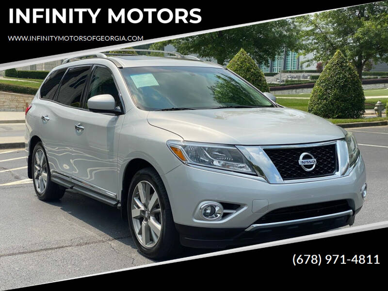 2014 Nissan Pathfinder for sale at INFINITY MOTORS in Gainesville GA