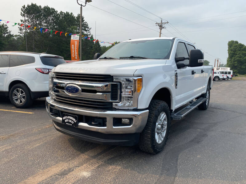 2019 Ford F-250 Super Duty for sale at Affordable Auto Sales in Webster WI