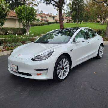 2019 Tesla Model 3 for sale at E MOTORCARS in Fullerton CA