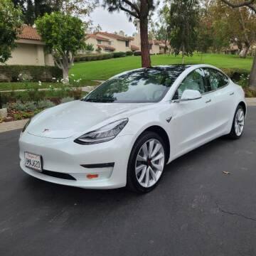 2019 Tesla Model 3 for sale at E MOTORCARS in Fullerton CA