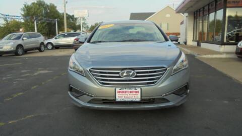 2017 Hyundai Sonata for sale at Absolute Motors in Hammond IN