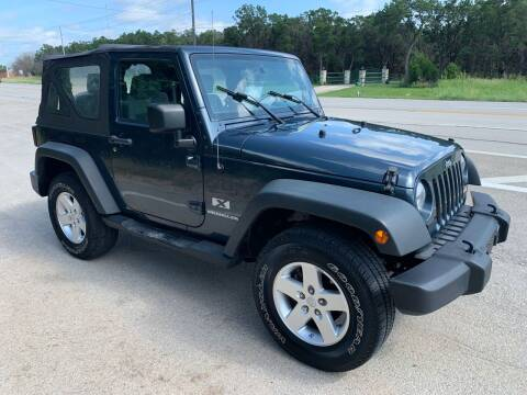 2008 Jeep Wrangler for sale at TROPHY MOTORS in New Braunfels TX