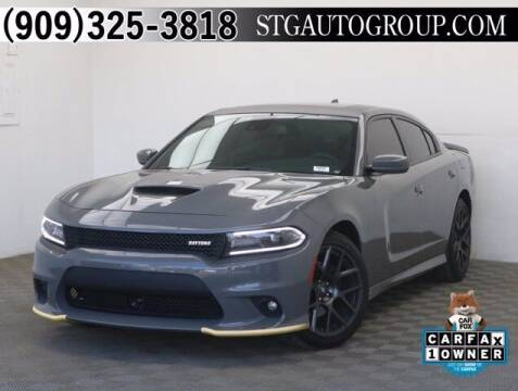 2018 Dodge Charger for sale at STG Auto Group in Montclair CA