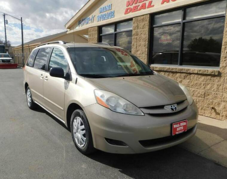 2009 Toyota Sienna for sale at Will Deal Auto & Rv Sales in Great Falls MT