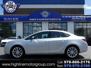 2016 Buick Verano for sale at Highline Group Motorsports in Lowell MA