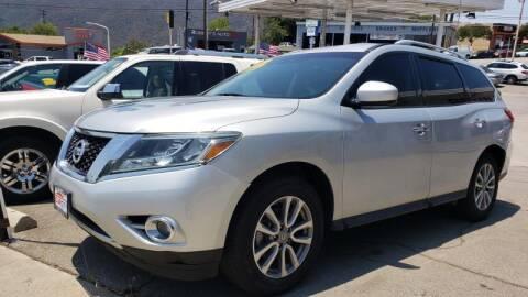 2015 Nissan Pathfinder for sale at CAR CITY SALES in La Crescenta CA