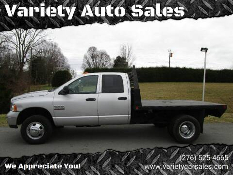 2005 Dodge Ram Pickup 3500 for sale at Variety Auto Sales in Abingdon VA