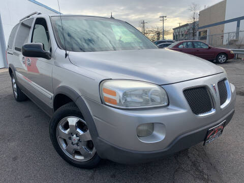 2006 Pontiac Montana SV6 for sale at JerseyMotorsInc.com in Teterboro NJ