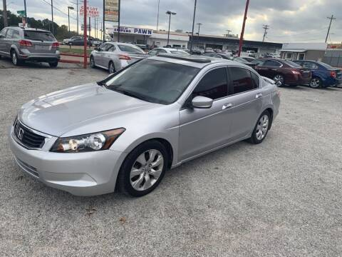 2008 Honda Accord for sale at Texas Drive LLC in Garland TX