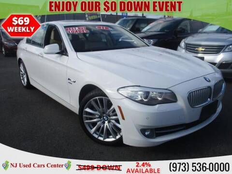 2011 BMW 5 Series for sale at New Jersey Used Cars Center in Irvington NJ