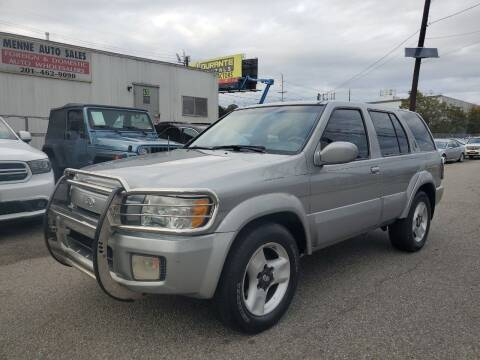 2001 Infiniti QX4 for sale at MENNE AUTO SALES in Hasbrouck Heights NJ